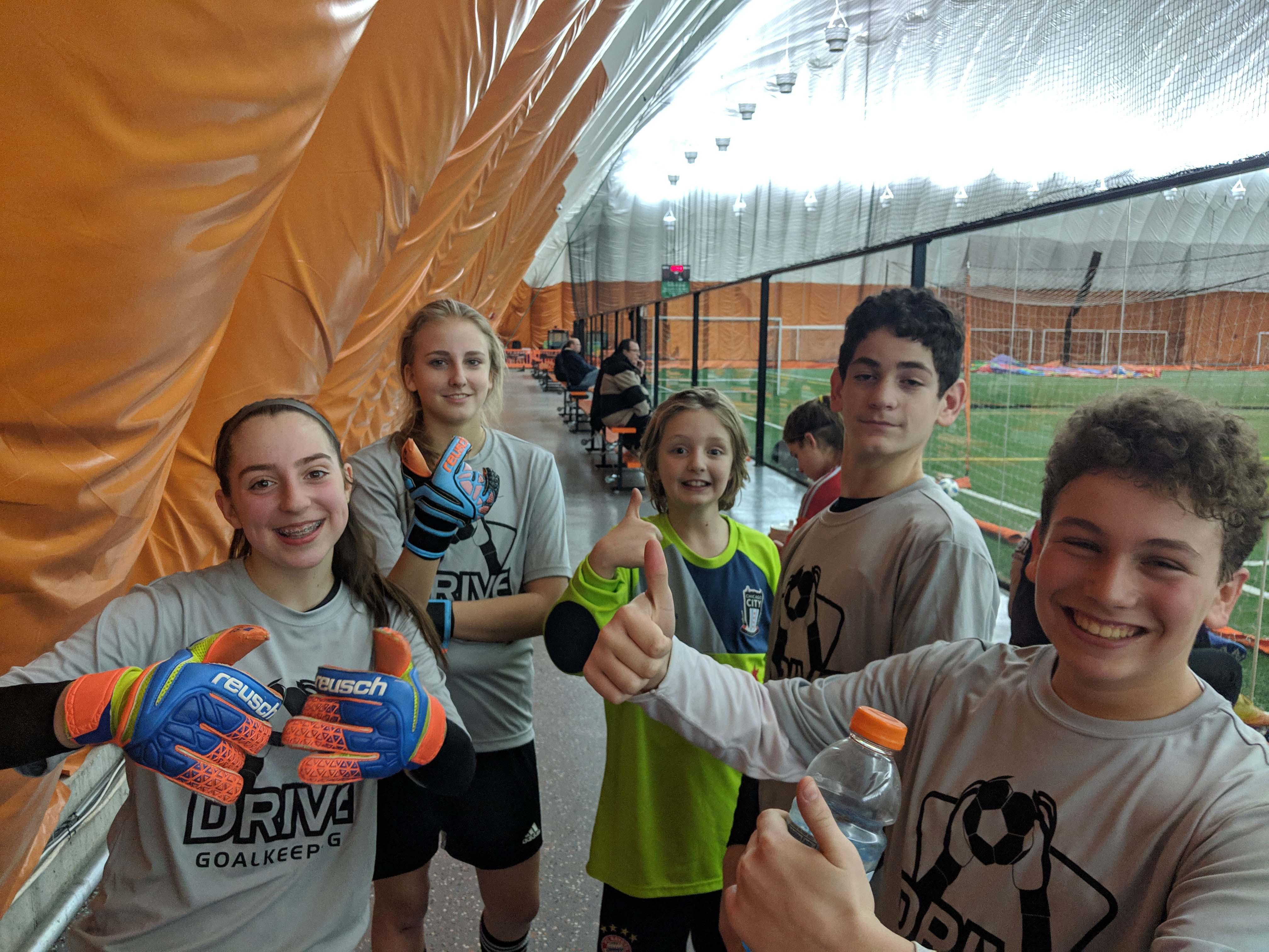 Group photo camp Having fun smaller-2