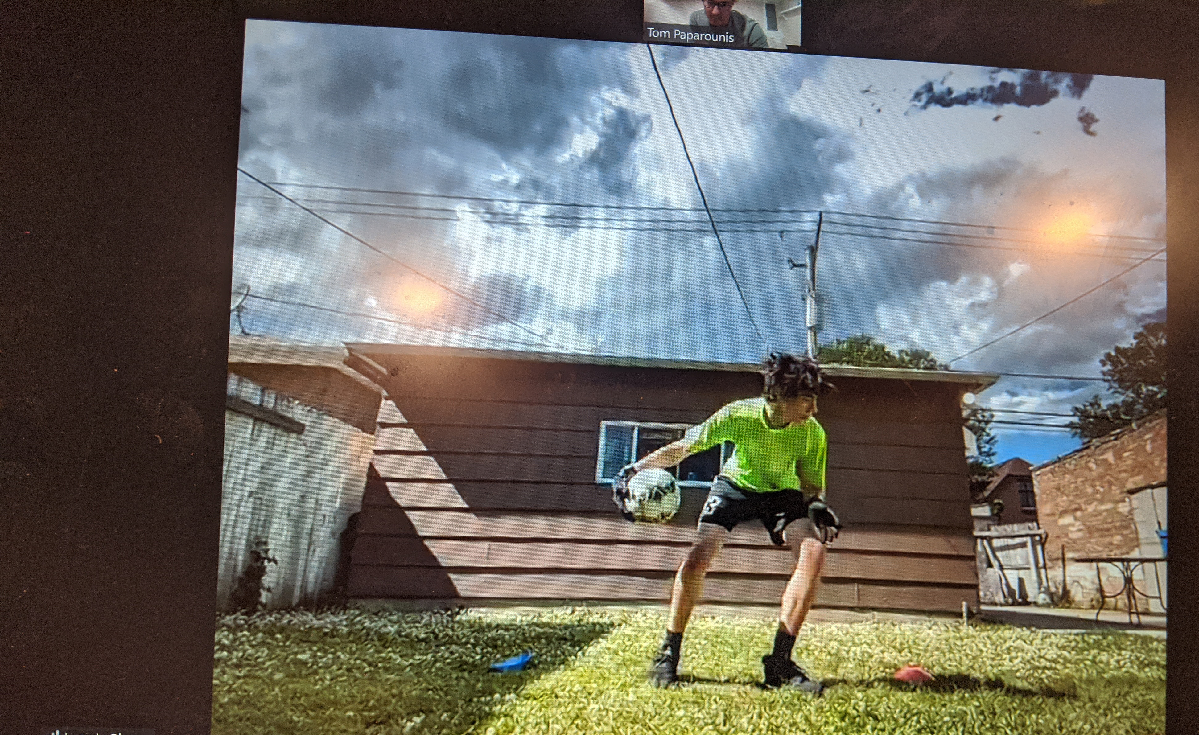 Virtual Individual Goalkeeper Training